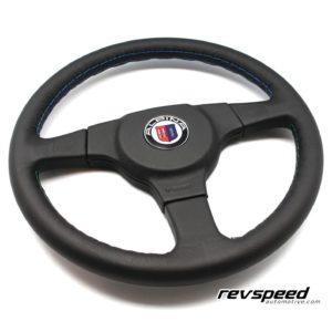 ALPINA 3 Spokes Black Leather 360mm Steering Wheel